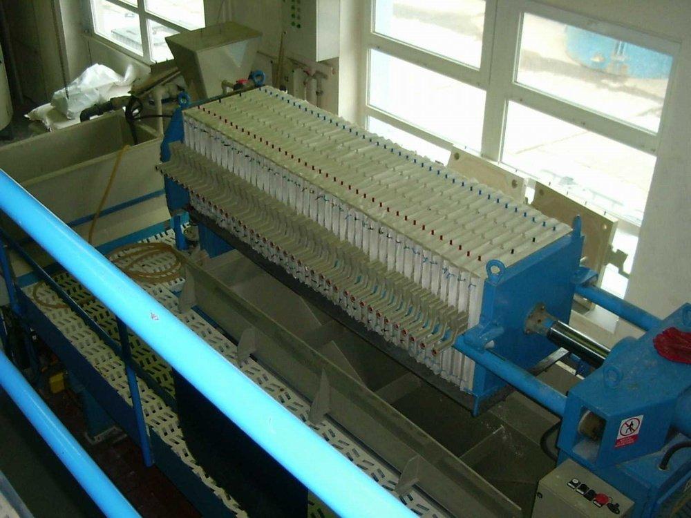 Polyaluminiumchlorid production<br />Water treatment plant Zelivka.